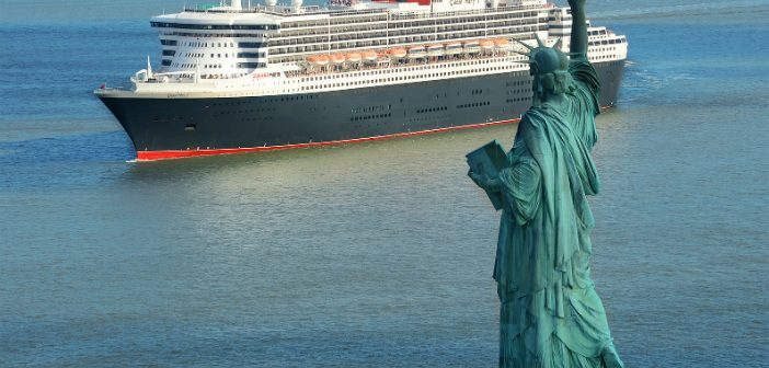 queen mary 2 new york