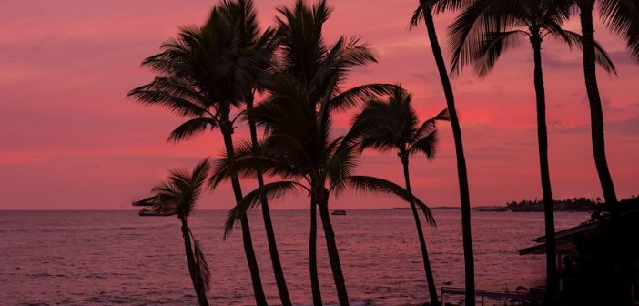 kona sunset hawaii