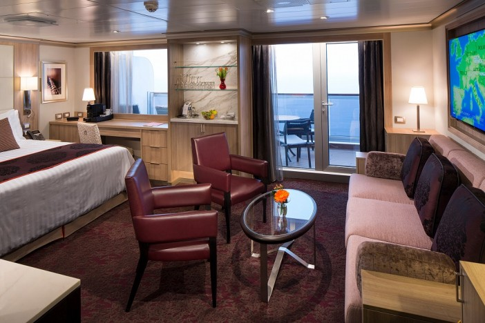 holland america line suite stateroom
