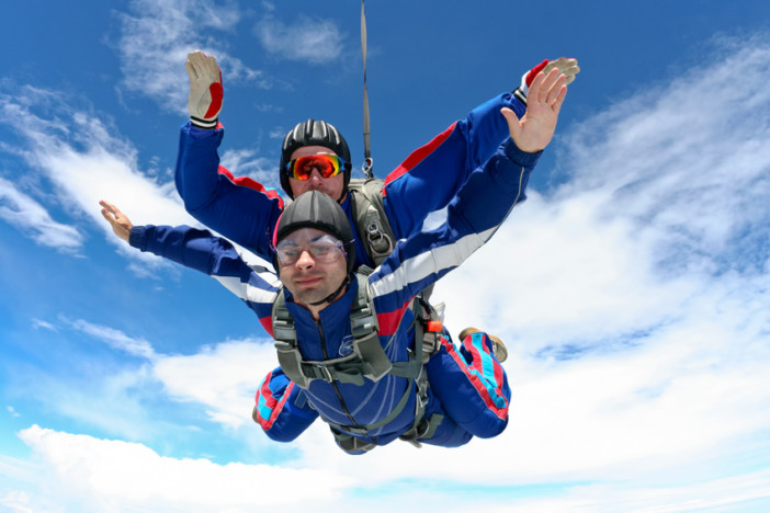 skydiving cruise