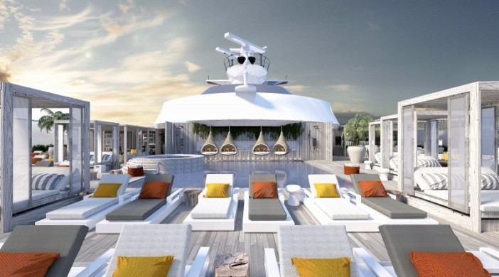 Sun Deck Celebrity Edge Cruise