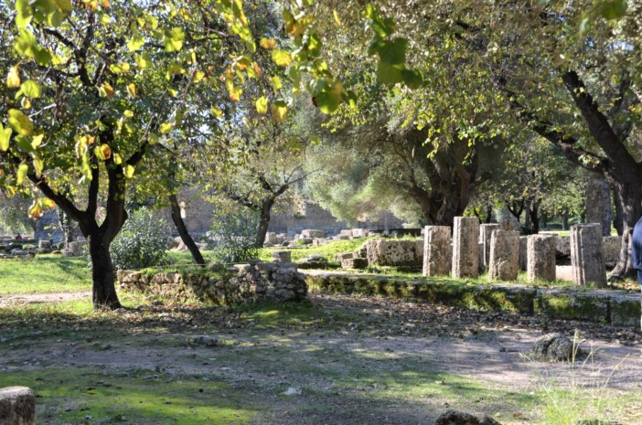 olympia archaeological site greece