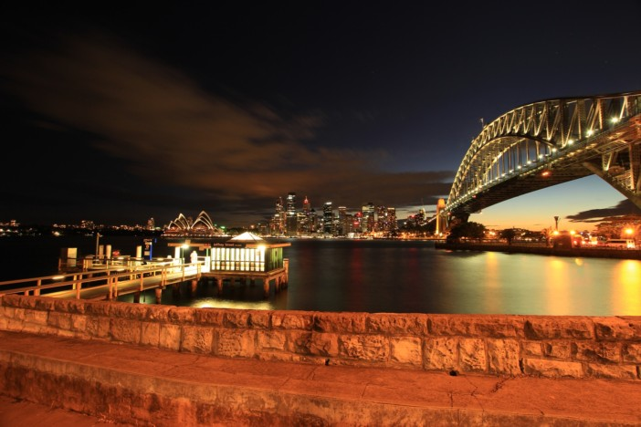 sydney harbour bridge - pixabay