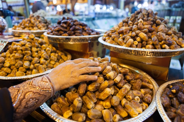 A selection of dates in Dubai.