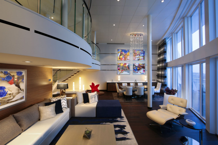 Royal CAribbean Press Center- suite