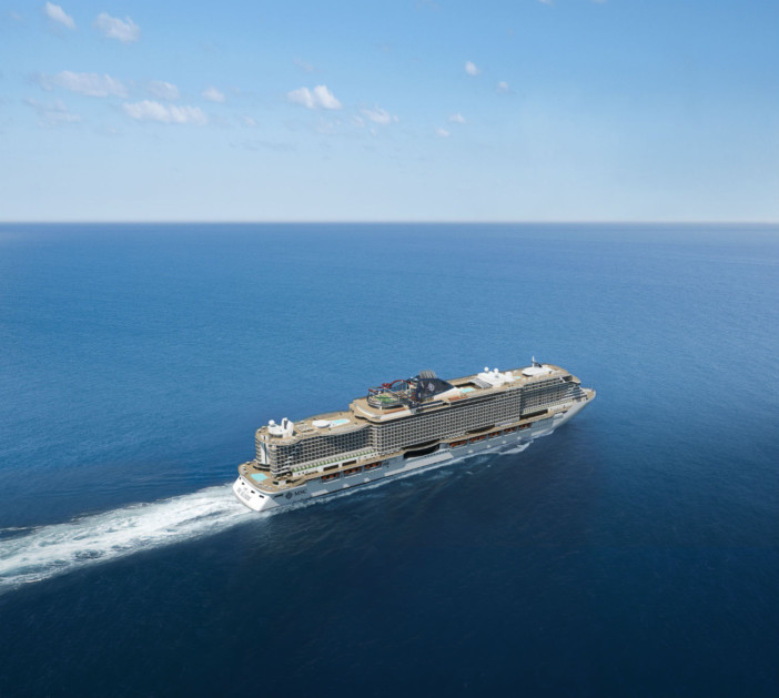 MSC Seaside Takes a Step Closer to Service, Completing its First Sea Trials