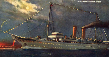 First Cruise Ship Ever Built