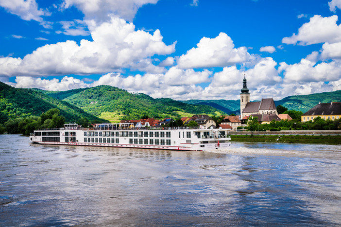 River cruise at destination