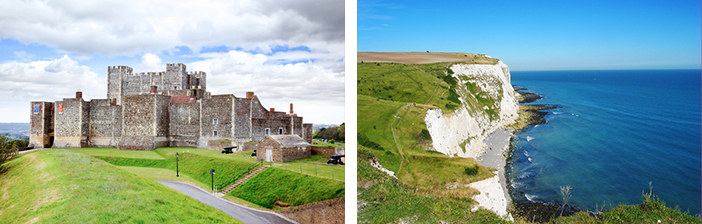 Dover Castle White Cliffs Cruises from the UK 2019