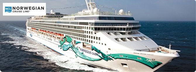 Explore Norwegian Jade Cruise Deals
