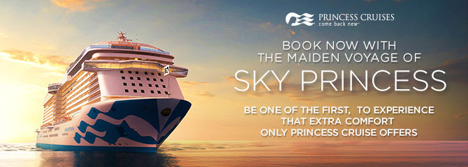 Sky Princess Cruises Cruise Holidays Cruise1st